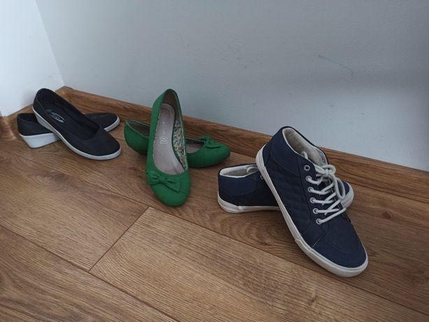 Zestaw butów, stan idealny 36/37