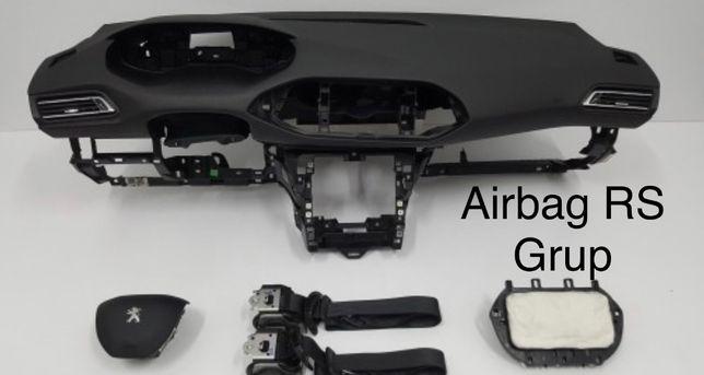 Peugeot 308 tablier airbags cintos