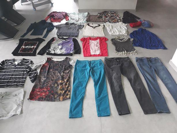 _Giga zestaw markowej odzieży dla pani roz.M/L _ 22 szt_