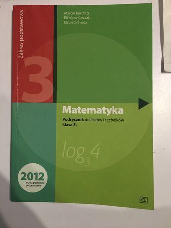 Podręcznik matematyka liceum