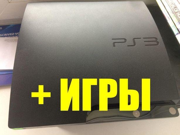 PS3 Slim 160 Gb + ИГРЫ НА ВЫБОР