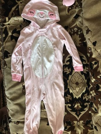Комбинезон флис пижама Carters