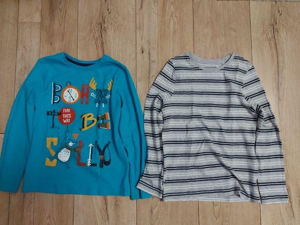 bluzki t-shirty z długim rękawkiem reserved palomino r.128cm 8l.
