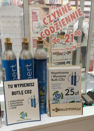 Wymiana butli co2 sodastream Dzierżoniów
