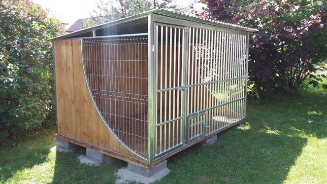 Kojec dla psa klatka box boki drewno - 3x2 OCYNK