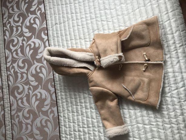 Kożuszek dziecięcy Zara 68r