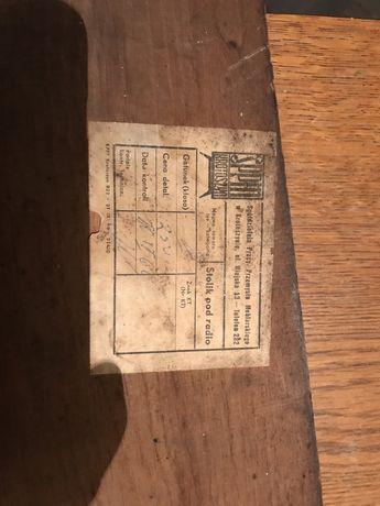 Stolik pod radio z prlu