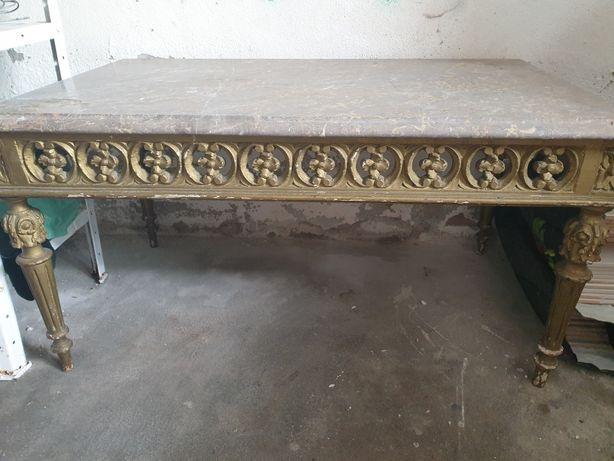 Mesa de mármore antiga