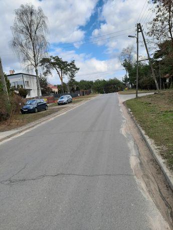 Dzialka uzbrojona ogrodzona Tuszyn Las, dzielnica willowa 650m2
