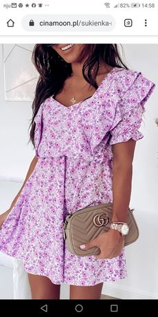 Sukienka Cinamoon lila