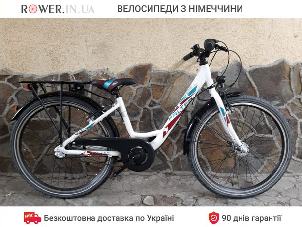 Велосипед дамка з планетарною втулкою Falter White 24 / Новий (уцінка)