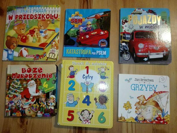 Książeczki dla dzieci Strazak Sam, Cyfry, Pojazdy...