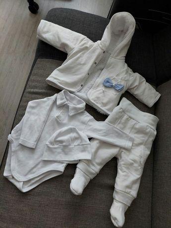 Ubranie do chrztu chłopiec 68