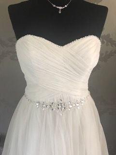 Suknia ślubna Verise Shari boho księżniczka tiul