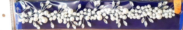 Весільна прикраса для волосся ''Веточка''.