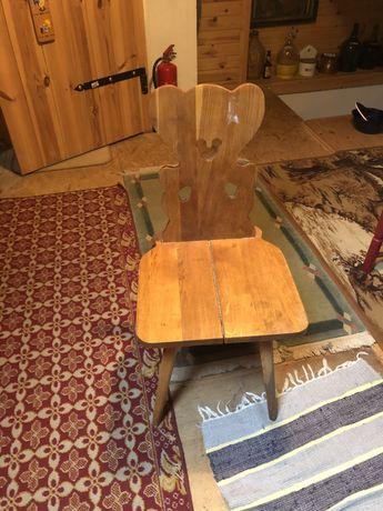 Krzesła góralskie