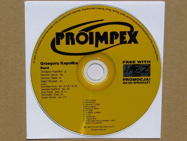 cd Grzegorz Kapołka Band 1996 Skolias Dudek Torres wyd.promo JAZZ