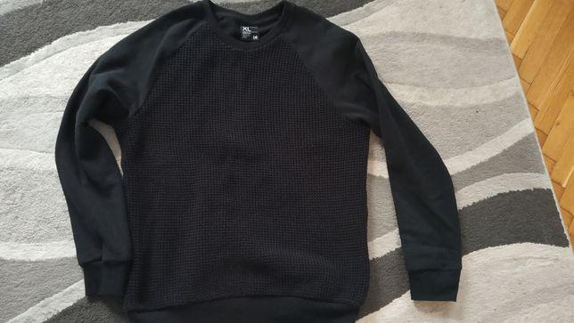 Czarna Bluza /sweter Cropp r. L