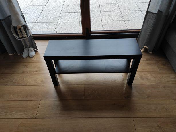 Stolik półka IKEA Lack RTV czarny