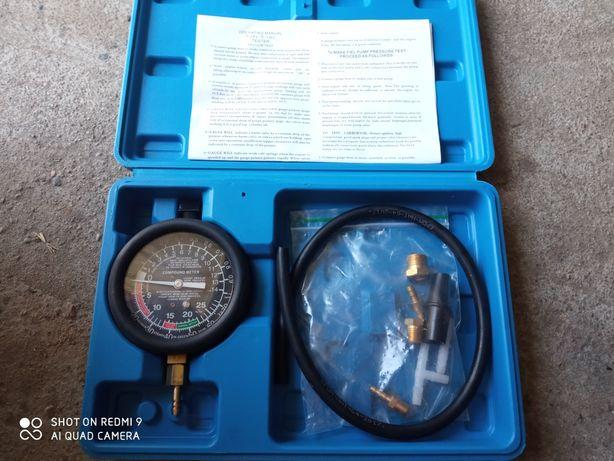 Wakuometr tester zegar pomiaru cisnienia i podcisnienia