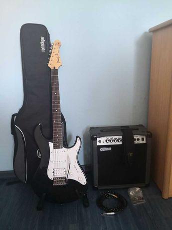 Zestaw Gitara Elektryczna Yamaha Pacifica + Wzmacniacz + Akcesoria