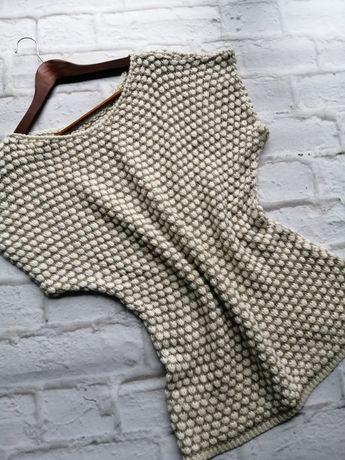Sweter, tunika nietoperz