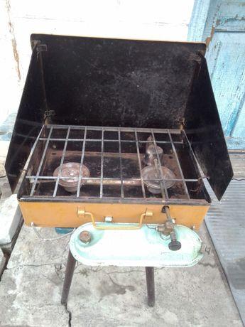 Печка походная бензиновая.