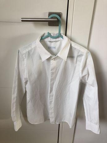 Koszula chłopieca r. 128 h&m biała ekegancka easy iron