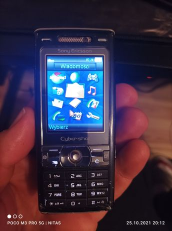 Sony Ericsson K800i 2 szt simlock timobile