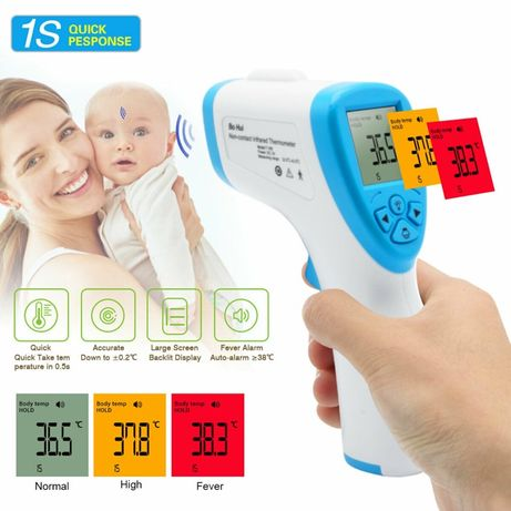 Termómetro infravermelhos digital sem contato