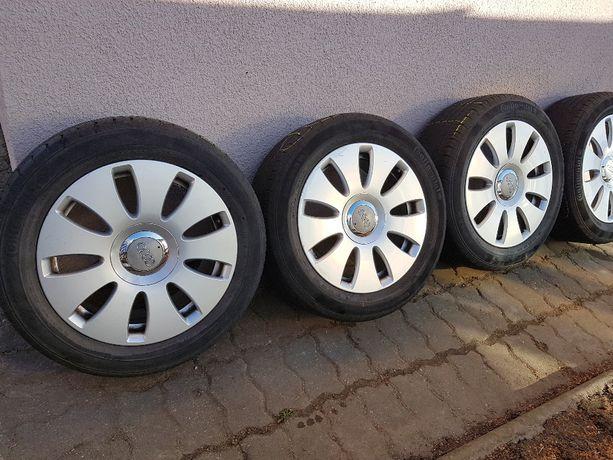 """Alufelgi originalne Audi 5X112 z dobrymi oponami 16"""""""
