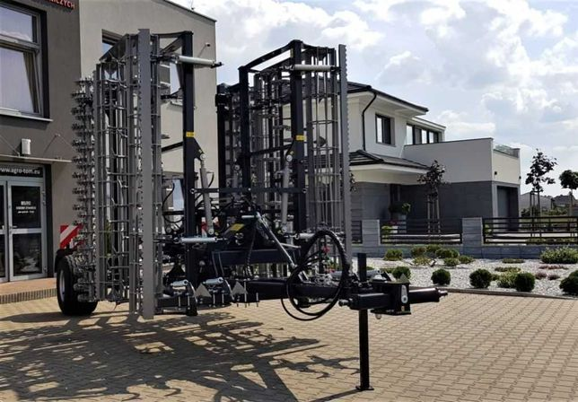 Maszyna Roku Agregat Uprawowy UPH Agro-Tom 4,5m,DOSTĘPNY OD RĘKI