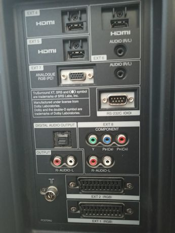 telewizor sharp aquos lc-32x20e