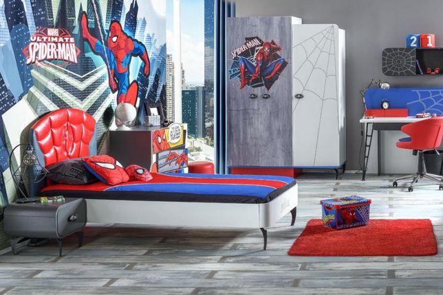 Łóżko dziecięce szafa komoda regał biurko stolik SPIDER-MAN Outlet-30%