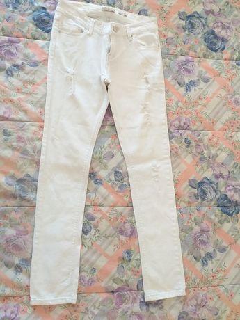 Calcas brancas 38