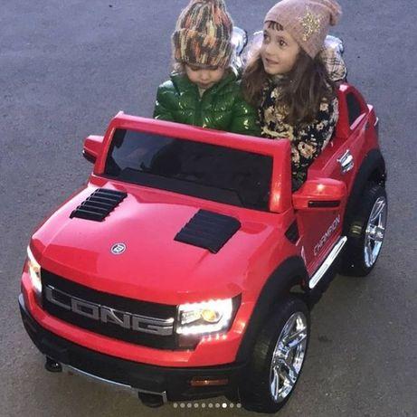 Terenowe autko JEEP FORD LONG RANGER 2os dla dzieci auto pilot 12V