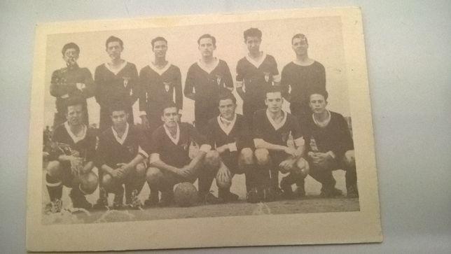 Calendário Antigo Seleção de Loulé 1956