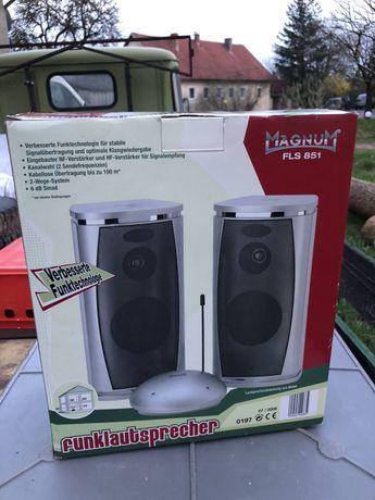 Głośniki bezprzewodowe 2 sztuki Magnum