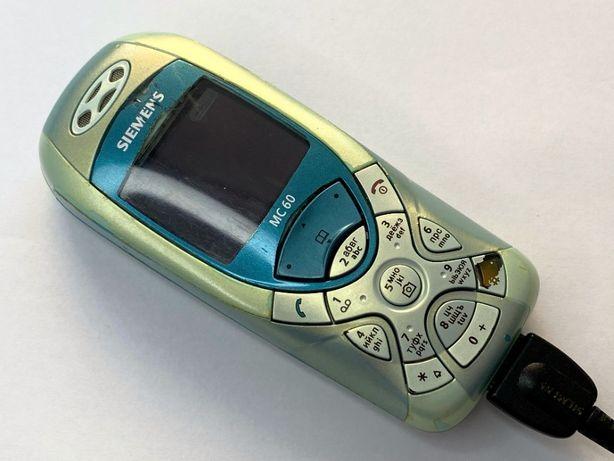 Siemens MC60 ретро 2003 год подарок телефон звонилка трубка классика