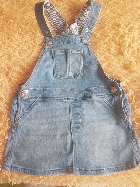 Продам комбинезон джинсовый H&M рост 80