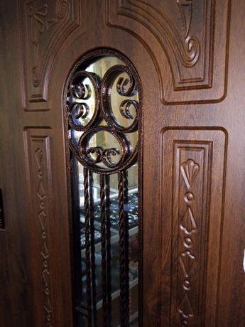 Дверь входная ПК-139V Дуб тёмный Vinorit