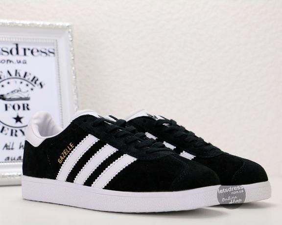 Adidas Gazelle Black Кроссовки мужские | Адидас Газель мужские черные