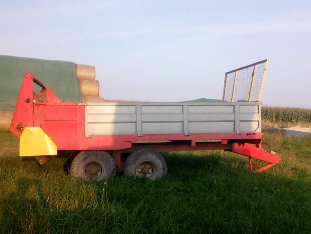 Rozrzutnik obornika Igamet 8 ton