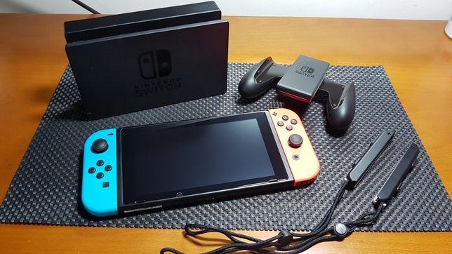 Troco Nintendo Switch V2 c/ garantia por trotinete elétrica