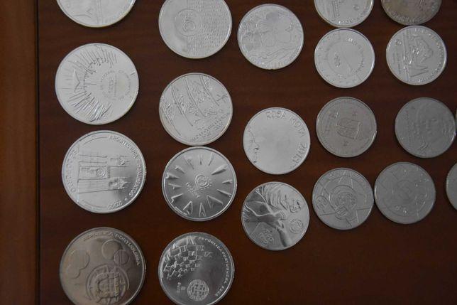 110 Moedas Comemorativas Portuguesas Euro prata e out metais