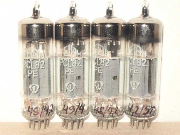 Радиолампа PCL82 (6Ф3П, 16Ф3П) 70-х годов.