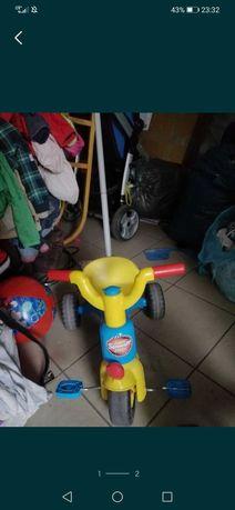 Rowerek dziecięcy na pedały pchacz