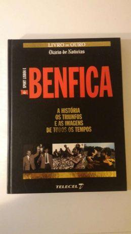 Livro de ouro Benfica Diário de notícias futebol coleção