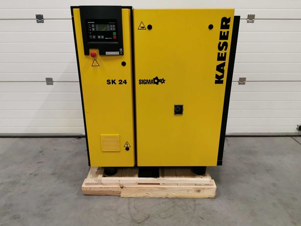 2008 Sprężarka śrubowa 15kw KAESER SK24 kompresor 2500l/min 8 bar