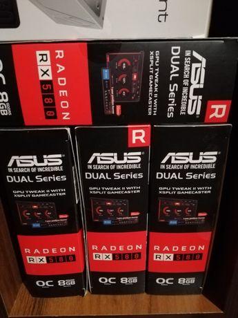 Видеокарты Radeon RX 580 8gb ASUS Samsung